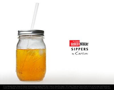 Rednek Sippers Glass / レッドネック シッパー グラス Carson USA / カーソン / ball mason ja...
