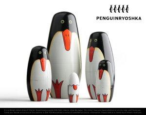 Penguin Ryoshka 5set ペンギンリョーシカ 5セット MATRYOSHKA マトリョーシカ 5個組 マトリョ...