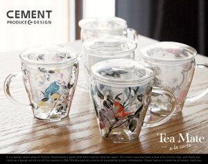 Tea mate a la carte / ティー メイト ア・ラ・カルトCEMENT PRODUCE DESIGN セメント プロデュース デザイン耐熱ガラス コップ Cup 茶こし ティーメイト【あす楽対応_東海】