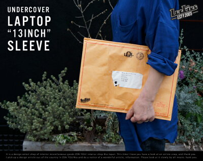 "Undercover Laptop Sleeve ""13inch"" / アンダーカバーラップト…"