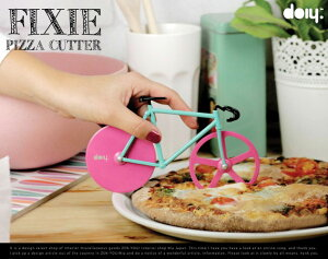 Fixie Pizza Cutter / フィクシーピザカッター doiy / ドゥーアイワイ ピストバイク ピスト ピ...