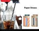 Paper Straws / ペーパーストロー kikkerland / キッカーランド スト…