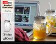 【S】 Rednek Handled Glass Mugs (約480ml) / Sサイズ レッドネック ハンドル グラス マグ Carson USA / カーソン ball mason jar ボール メイソンジャー スムージー 保存 容器 ガラス容器 Ball社 ガラス 保存ビン アメリカ 正規品 DETAIL【あす楽対応】