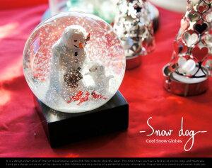 """Cool Snow Globe """"Snow dog"""" / クールスノーグローブー """"スノードッグ""""BIG TRIKE ビッグト..."""