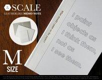 【M】LEATHERLIKEMEMONOTE/Mサイズレザックメモノート&NUT/アンドナットノートメモ帳50Pカードサイズ名刺サイズ