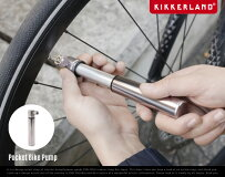 PocketBikePumpポケットバイクポンプKikkerlandキッカーランド仏式バルブ空気入れ自転車用品コンパクトDETAIL