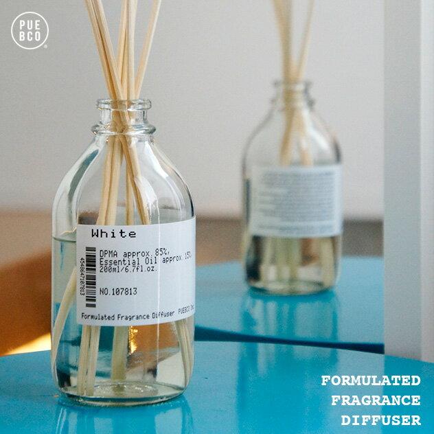 FORMULATED FRAGRANCE DIFFUSER / フォーミュレイト フレグランス デュフューザー PUEBCO/プエブコ アロマ 芳香剤 フレグランスディフューザー