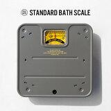 STANDARD BATH SCALE / スタンダードバススケール(体重計) PUEBCO プエブコ体重 おしゃれ デザイン アナログ バススケール マットグレー バス用品
