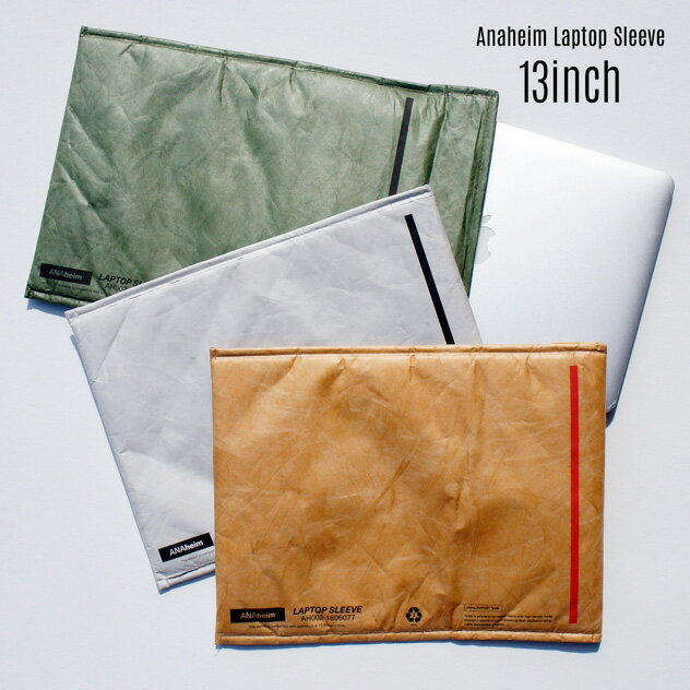 PCアクセサリー, PCバッグ・スリーブ Anaheim Laptop Sleeve 13inch 13ANAHEIM HOUSEHOLD GOODS DUPON Tyvekmac book air13 PC DETAIL