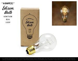 "【E26/40W-60W】 Edison Bulb ""A-Shape ( S ) "" / エジ…"