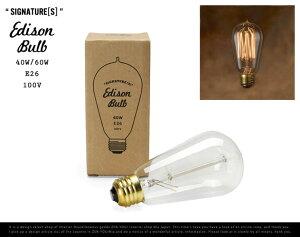"""【E26/40W-60W】 Edison Bulb """"Signature ( S ) """" / …"""