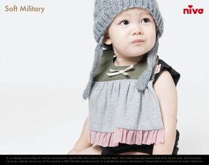 Soft military / ソフトミリタリー niva /ニヴァ スタイ よだれかけ 出産…
