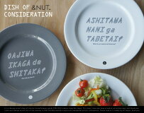 DISHOFCONSIDERATION/ディッシュオブコンシダレーション&NUT/アンドナットディナープレートお皿食器24.5cm