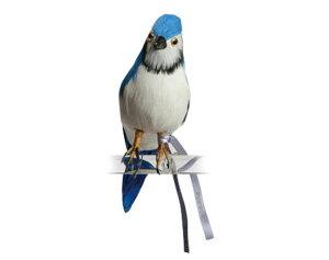 Blue Jay アオカケス ブルー PUEBCO Artificial Birdsプエブコ アーティフィシャルバード11407...
