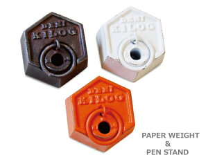 PAPER WEIGHT & PEN STAND/ペーパーウェイト&ペンスタンドPUEBCO/…