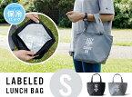 【S】LABELED Lunch Bag (KEEP COOL) ラベルド ランチバッグ (キープクール) Floyd フロイド 保冷バッグ 中はアルミで覆われた クーラーバッグ ピクニック 運動 アウトドア カバン 鞄 冷却