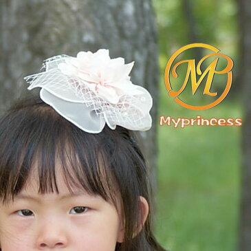 【新作】フラワーガールヘットドレス_結婚式子供ヘアクリップ_mhd1201_コサージュ