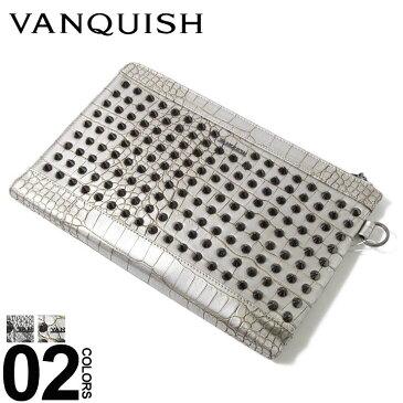 ヴァンキッシュ VANQUISH スタッズ メタル タブレット クラッチバッグ ブランド メンズ 鞄 手持ち VQM41140