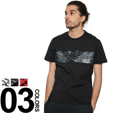 エンポリオアルマーニ EMPORIO ARMANI EA7 Tシャツ 半袖 ロゴプリント ブランド メンズ トップス EA3ZPT44PJ30Z 【dl】brand