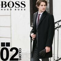 ヒューゴ ボス コート HUGO BOSS カシミア混 ウール シングル チェスターコート ブランド メンズ ビジネス チェスター HBSTRA10192381 SALE_2_b