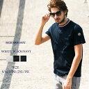 モンクレール MONCLER Tシャツ 半袖 トリコロールリブ ブラン...