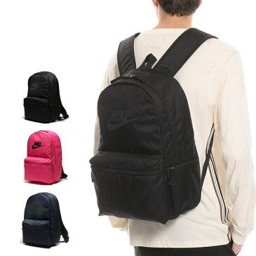 NIKE ナイキ ロゴ ヘリテージ ソリッド バックパックメンズ カジュアル 男性 ファッション 鞄 バック リュック 背面メッシュ シンプル 大容量 BA5749