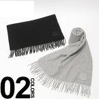 モンクレール MONCLER マフラー ロゴワッペン ウール100% ブランド メンズ レディース MC00864000864S