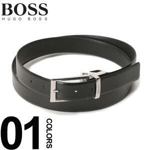 72c3f6da84239 ヒューゴ ボス HUGO BOSS ベルト レザー ピンバックル 革ベルト ブランド メンズ ビジネス レザーベルト HB50403162S9