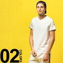 モンクレール MONCLER Tシャツ 半袖 ワッペン トリコロールライン Vネック ブランド メンズ トップス MC810080087296