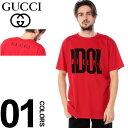 グッチ GUCCI Tシャツ 半袖 BILLY IDOL プリント クルーネック ブランド メンズ トップス カットソー ロック GC548335XJAIU