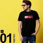 モンクレール MONCLER Tシャツ 半袖 ロゴ プリント ワッペン クルーネック NAVY ブランド メンズ トップス MC80371508390T