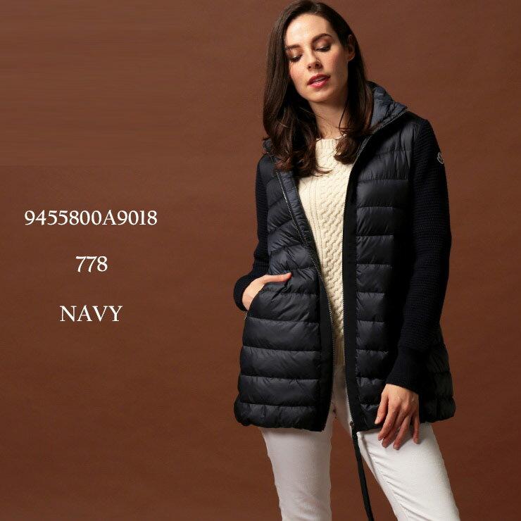 レディースファッション, コート・ジャケット  MONCLER NAVY MCL9455800A9018