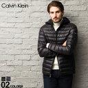 カルバンクライン CK Calvin Klein ライトダウンジャケット パッカブル フード パーカ