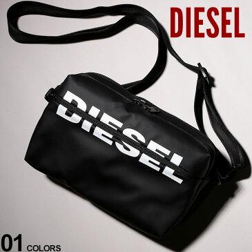 ディーゼル バッグ DIESEL ロゴ プリント バムバッグ F-BOLD CROSS ブランド メンズ レディース 鞄 ショルダーバッグ ボディバッグ DSX06440P1705