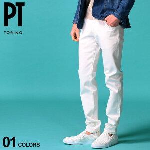 PT TORINO メンズ ホワイトデニム ピーティートリノ ジーンズ ストレッチ デニムパンツ SOUL ブランド ボトムス 白デニム ジーパン PTC5VL15Z00OA14 SALE_3_a
