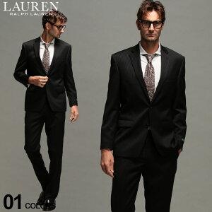 ローレンラルフローレン メンズ スーツ LAUREN RALPH LAUREN ウール100% ストライプ シングル 2ツ釦 ノータック ULTRAFLEX ブランド ビジネス RLLETO1RZL170S SALE_2_d
