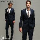 ヒューゴボス メンズ スーツ HUGO BOSS シングル 2ツ釦 ノータック ストレッチ 紺スーツ INFINITI FLEX ブランド HBHJ10217983P SALE_2_d・・・