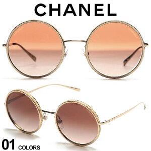 CHANEL シャネル ゴールドフレーム ラウンド サングラス ブランド レディース サングラス アイウェア CNL4250 SALE_6_c