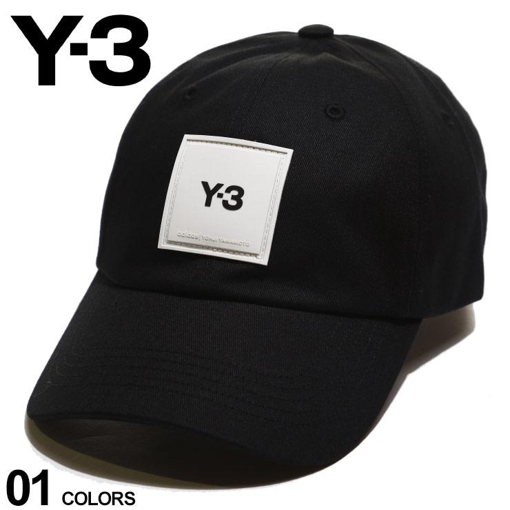 メンズ帽子, キャップ Y-3 SQUARE LABEL BLACK Yohji Yamamoto Y3GT6379