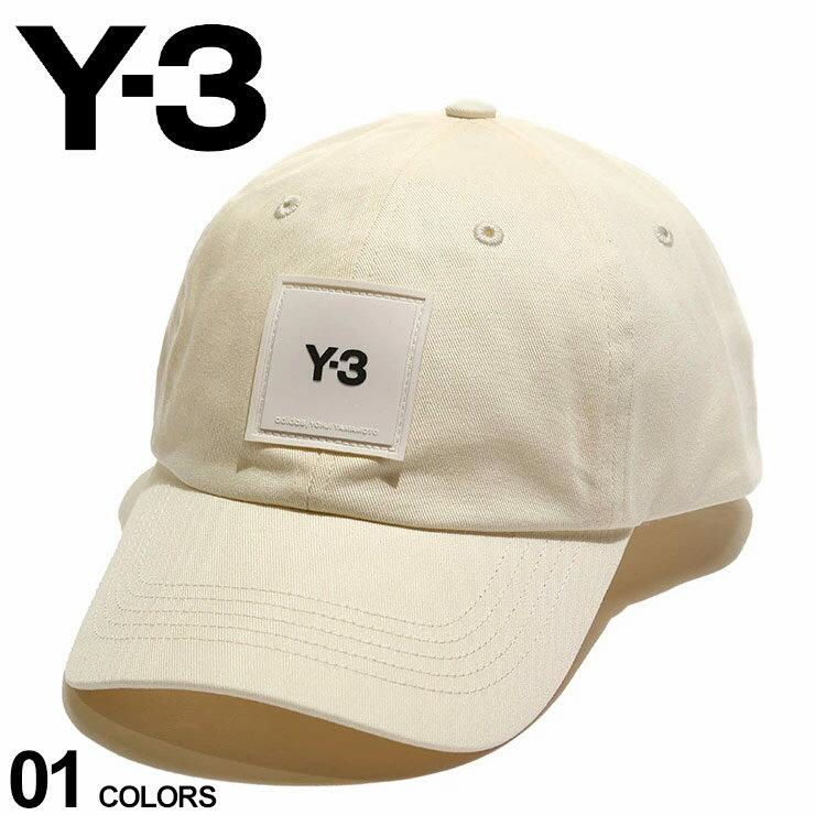 メンズ帽子, キャップ Y-3 SQUARE LABEL BEIGE Yohji Yamamoto Y3H15772
