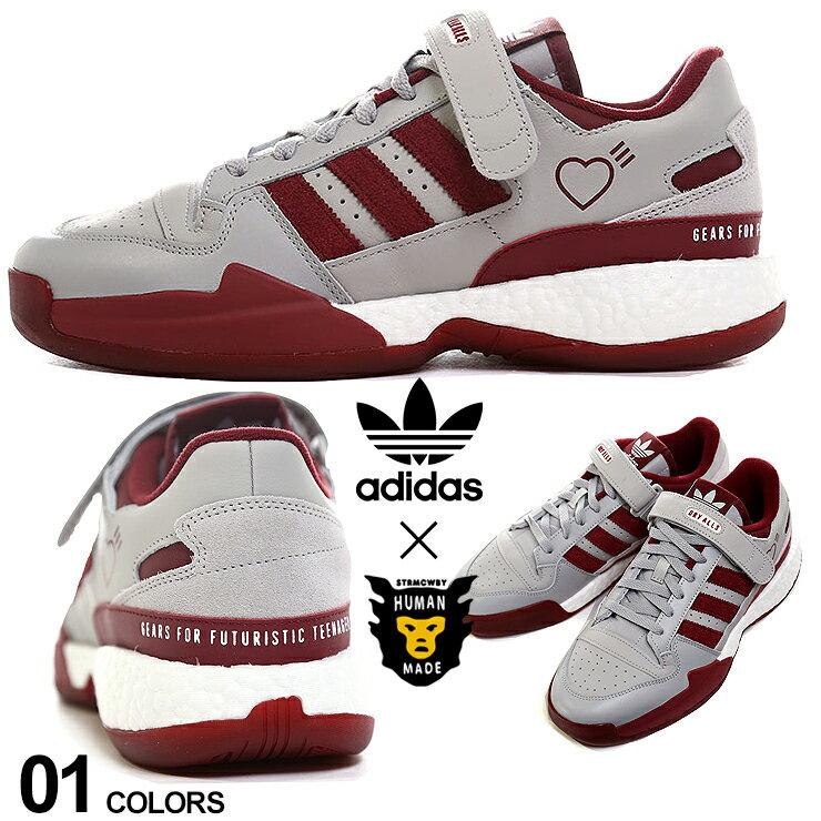 メンズ靴, スニーカー adidas Originals by HUMAN MADE FORUM LOW HM ADS42977