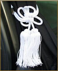 カーテン ドレスアップカーテンベルト タッセルホワイト タッセル ホワイト