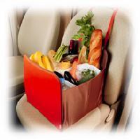 【35%OFF】運転中にお買い物袋が落ちない!大容量収納ケース!ワコー社製車内便利グッズ シート...