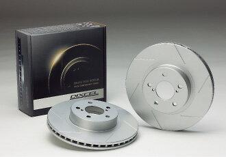 DIXCEL/ディクセル ブレーキローター SD フロント MERCEDES BENZ W210 (SEDAN) E400 4.2 96/11〜99/9 210072 Front 4POT CALIPER 車 (並行輸入車) SD111 3238S