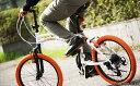 【メーカー直送品】DOPPELGANGER / ドッペルギャンガー 20インチ アルミフレーム 折りたたみ自転車 215-DP Barbarous 送料無料(北海道・沖縄・離島除く) 4582143465022