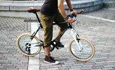 【メーカー直送品】DOPPELGANGER / ドッペルギャンガー 20インチ 折りたたみ自転車 260-GR Parceiro 送料無料(北海道・沖縄・離島除く) 4582143467484