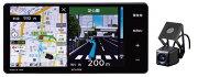 デンソーテンイクリプス(ECLIPSE)メモリーナビゲーション内蔵SD/DVD/Bluetooth/Wi-Fi/地上デジタルTV7型WVGAAVシステムドライブレコーダー内蔵ワイドモデルAVN-D10W