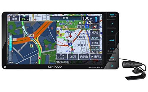 ケンウッド(KENWOOD) カーナビ 彩速ナビ MDV-D404BTW(インダッシュ):ゼンリンドライバーズステーション