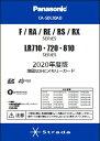 パナソニック 2020年度版 地図 SDHC メモリーカード F1D・F1X・F1S/RA/RE/RS/RXシリーズ用 CA-SDL20AD