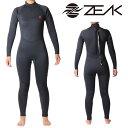 ZEAK(ジーク) ウェットスーツ レディース フルスーツ (5×3mm) ウエットスーツ サーフィンウエットスーツ ZEAK WETSUITS